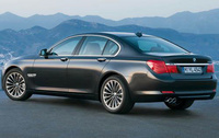 2010 BMW 7 Series, Back Left Quarter View, exterior, manufacturer