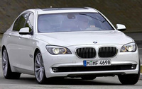 2010 BMW 7 Series, Front View, manufacturer, exterior