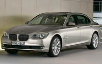 2010 BMW 7 Series, Front Left Quarter View, manufacturer, exterior