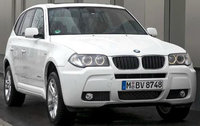 2010 BMW X3, Front Right Quarter View, exterior, manufacturer