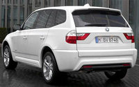 2010 BMW X3, Back Left Quarter View, exterior, manufacturer
