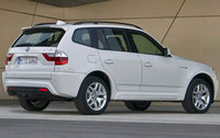 2010 BMW X3, Back Right Quarter View, exterior, manufacturer