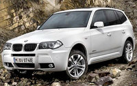 2010 BMW X3, Front Left Quarter View, exterior, manufacturer