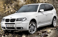 2010 BMW X3, Front Left Quarter View, manufacturer, exterior