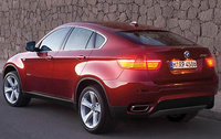 2010 BMW X6, Back Left Quarter View, manufacturer, exterior