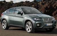 2010 BMW X6, Front Right Quarter View, manufacturer, exterior