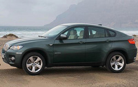 2010 BMW X6, Left Side View, manufacturer, exterior