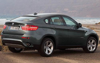 2010 BMW X6, Back Right Quarter View, manufacturer, exterior