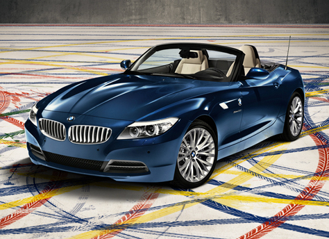 2010 BMW Z4, Front Left Quarter View, manufacturer, exterior