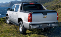 2010 Chevrolet Avalanche, Back Left Quarter View, manufacturer, exterior