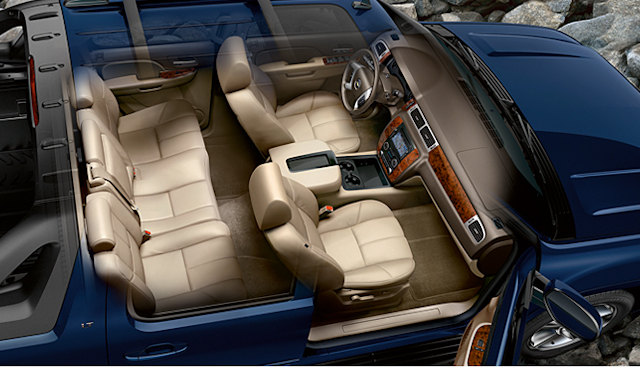 2010 Chevrolet Avalanche, Interior View, manufacturer, interior