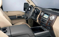 2010 Ford F-250 Super Duty, Interior View, manufacturer, interior