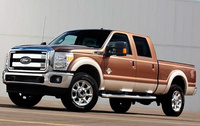 2010 Ford F-250 Super Duty, Front Left Quarter View, manufacturer, exterior