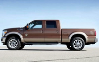 2010 Ford F-250 Super Duty, Left Side View, exterior, manufacturer