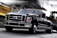 2010 Ford F-350 Super Duty, Front Left Quarter View, manufacturer, exterior