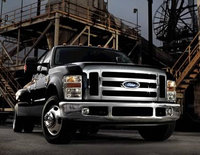 2010 Ford F-350 Super Duty, Front Right Quarter View, exterior, manufacturer