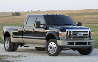 2010 Ford F-450 Super Duty, Front Right Quarter View, manufacturer, exterior