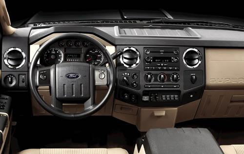 Ford F 450 Super Duty Inside