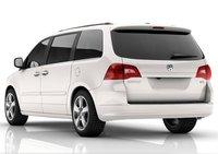 2010 Volkswagen Routan, back view , exterior, manufacturer
