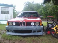 1979 BMW 7 Series, with body kit, exterior