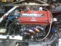 Picture of 1997 Honda Civic DX, engine