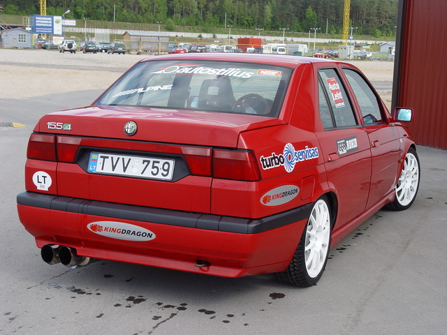 Picture of 1994 Alfa Romeo 155, exterior, gallery_worthy