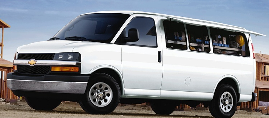 2010 Chevrolet Express Cargo, Side view, showing the Access Plus option package, exterior, manufacturer