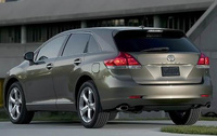 2010 Toyota Venza, Back Left Quarter View, manufacturer, exterior