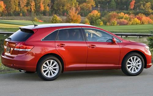 2010 Toyota Venza, Back Right Quarter View, manufacturer, exterior