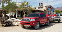 2010 Toyota Tacoma, Front Left Quarter View, exterior, manufacturer