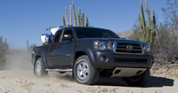 2010 Toyota Tacoma, Front Right Quarter View, manufacturer, exterior