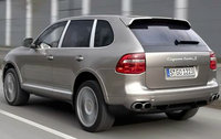 2010 Porsche Cayenne, Back Left Quarter View, exterior, manufacturer