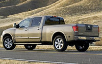 2010 Nissan Titan, Back Left Quarter View, exterior, manufacturer