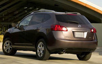 2010 Nissan Rogue, Back Left Quarter View, exterior, manufacturer