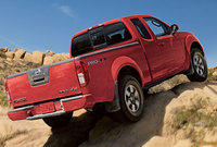 2010 Nissan Frontier, Back Right Quarter View, manufacturer, exterior
