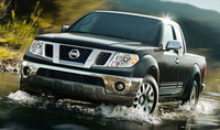 2010 Nissan Frontier, Front View, exterior, manufacturer