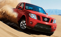 2010 Nissan Frontier, Front Right Quarter View, manufacturer, exterior