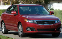 2010 Kia Optima, Front Right Quarter View, manufacturer, exterior