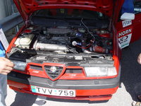 Picture of 1994 Alfa Romeo 155, engine