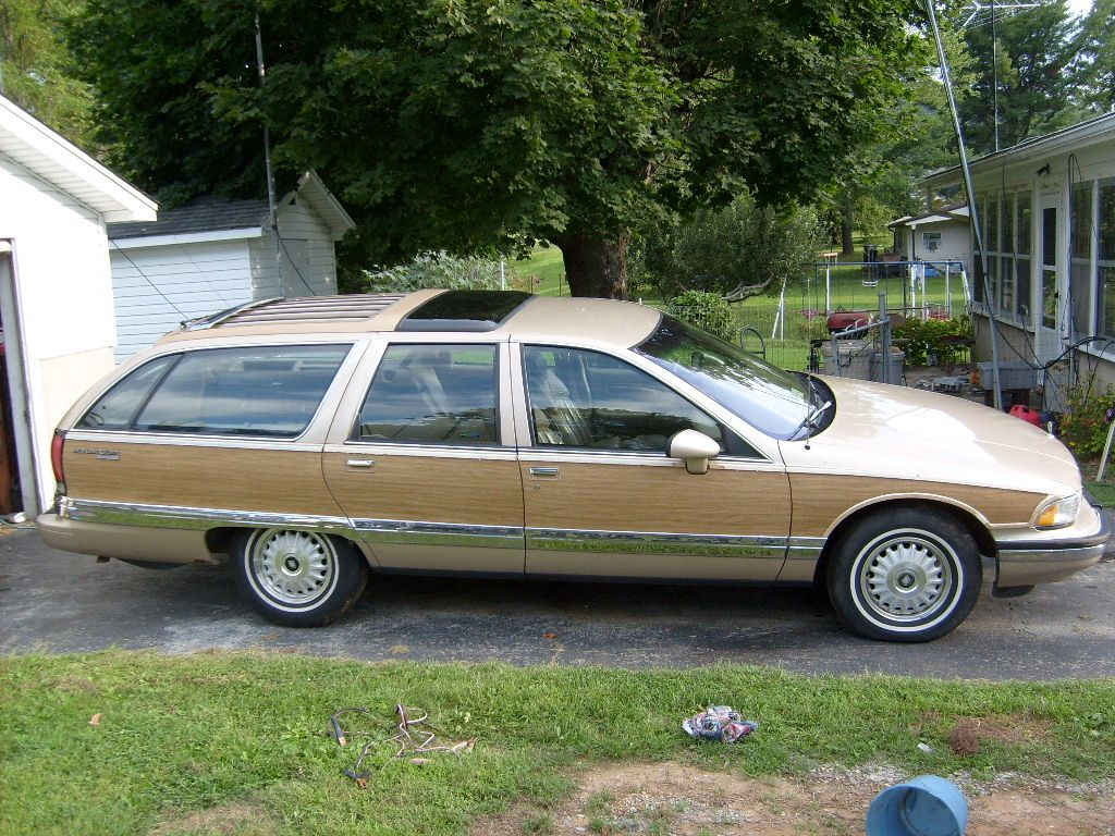 1993 Buick Roadmaster - Pictures - 1993 Buick Roadmaster 4 Dr Est ...