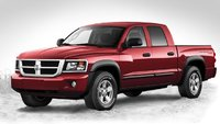 2010 Dodge Dakota, Front-quarter view, exterior, gallery_worthy