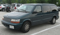 1992 Plymouth Voyager Overview