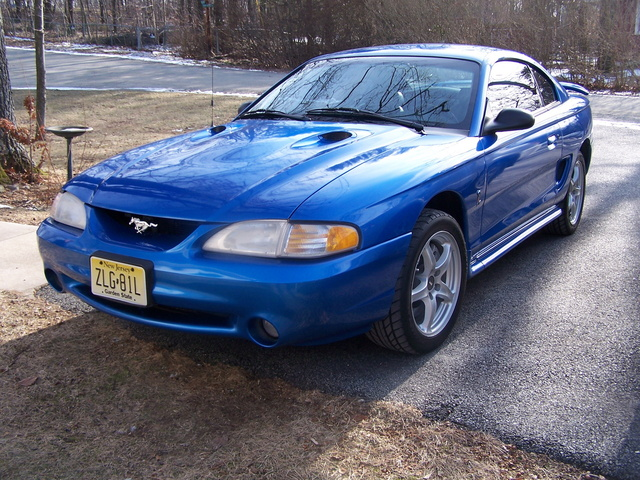 My 1998 SVT Cobra, Bright Atlantic Blue, with Black leather interior
