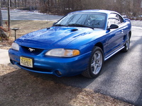 1998 Ford Mustang SVT Cobra, My 1998 SVT Cobra, Bright Atlantic Blue, with Black leather interior, exterior
