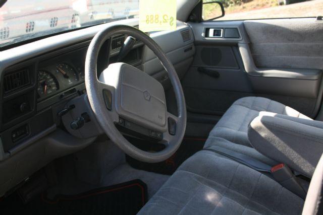 Dodge Spirit 1992. 1993 Dodge Spirit 4 Dr ES