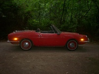 1971 FIAT 124 Spider Overview