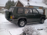 1996 Isuzu Trooper Overview