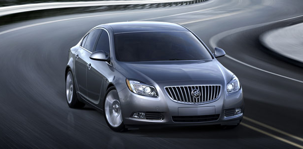 2011 Buick Regal, front view , manufacturer, exterior
