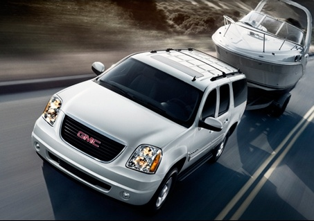 2010 GMC Yukon XL, From the front and above, exterior, manufacturer, gallery_worthy