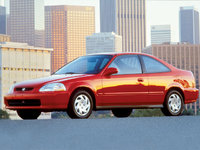 Picture of 1998 Honda Civic Coupe DX, exterior